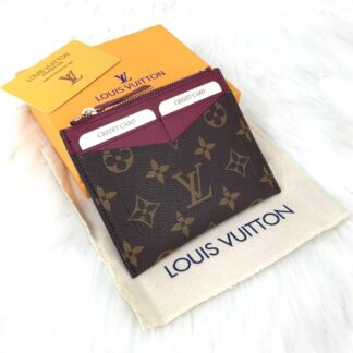louis vuitton canta maxi card holder kartlik bordo