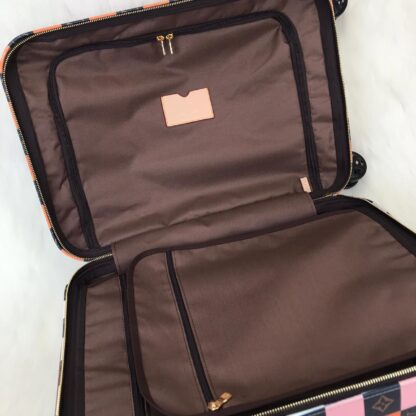 louis vuitton canta renkli zephyr kabin boy cek cek valiz 55cm