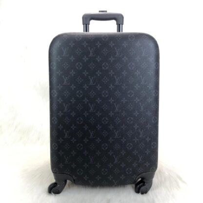 louis vuitton canta siyah monogram zephyr kabin boy cek cek valiz 55cm