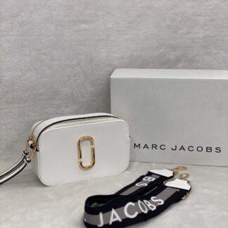 marc jacobs canta beyaz gri askili suni deri