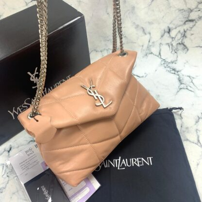 yves saint laurent ysl canta loulou puffer pudra