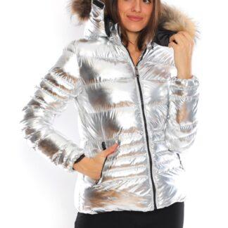 moncler mont parlak silver kapuson QR kod