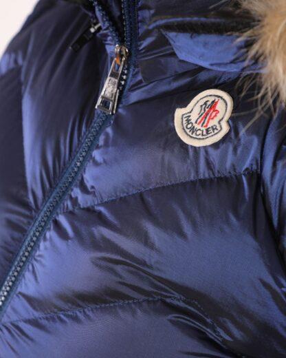 moncler yelek saks mavi zigzag desen kapuson QR kod