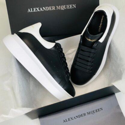 alexander mcqueen ayakkabi erkek sneaker siyah beyaz