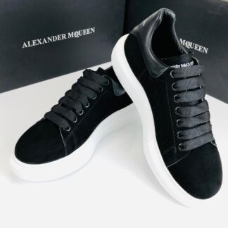 alexander mcqueen ayakkabi erkek sneaker siyah suet
