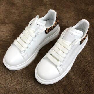 alexander mcqueen ayakkabi sneaker leopar beyaz