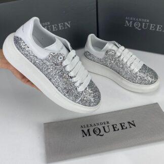 alexander mcqueen ayakkabi sneaker simli silver
