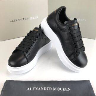 alexander mcqueen ayakkabi sneaker siyah beyaz taban