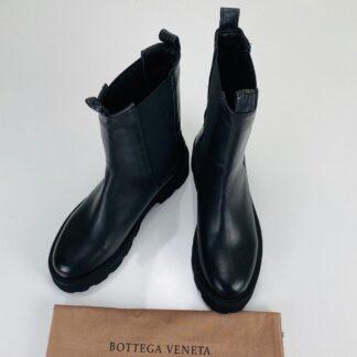 bottega vanetta ayakkabi the lug siyah bot