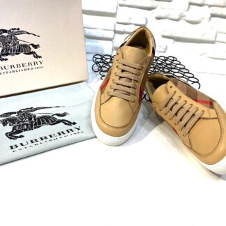 burberry ayakkabi check pattern low top sneakers classic