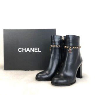 chanel ayakkabi block heels topuk 8 cm bot