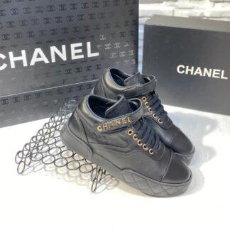 chanel ayakkabi siyah ithal hakiki deri
