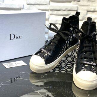 christian dior ayakkabi walk sneaker siyah beyaz ithal