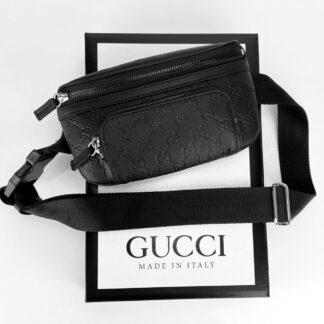 gucci canta imprime eden belt unisex 23x11cm