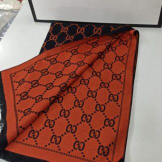 gucci sal cift tarafli siyah turuncu yeni model kasmir