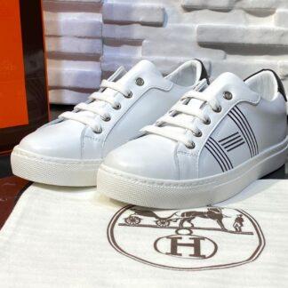 hermes ayakkabi avantage sneaker beyaz siyah