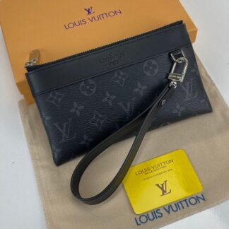 louis vuitton cuzdan wrislet wallet portfoy monogram siyah 21x12 cm