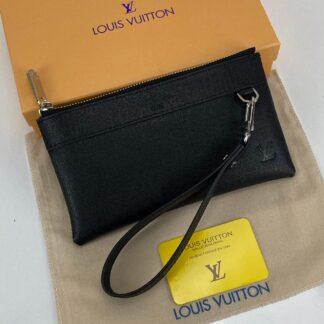 louis vuitton cuzdan wrislet wallet portfoy siyah 21x12 cm