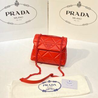 prada canta spectrum kirmizi mini boy 23x18