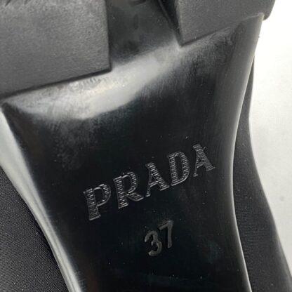 prada bot high heel laced topuk 9.5cm