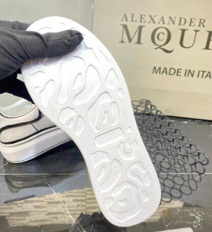 alexander mcqueen ayakkabi ozel seri beyaz siyah sneaker