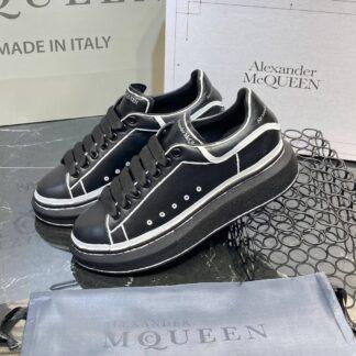 alexander mcqueen ayakkabi ozel seri siyah beyaz sneaker