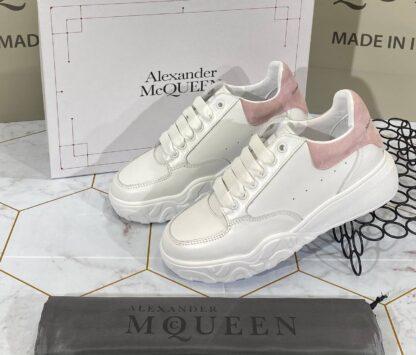 alexander mcqueen ayakkabi sneaker beyaz pudra