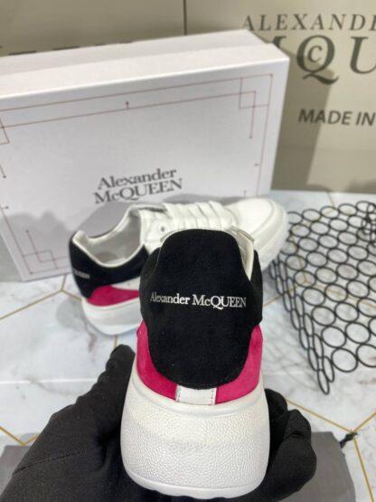 alexander mcqueen ayakkabi sneaker beyaz siyah pembe