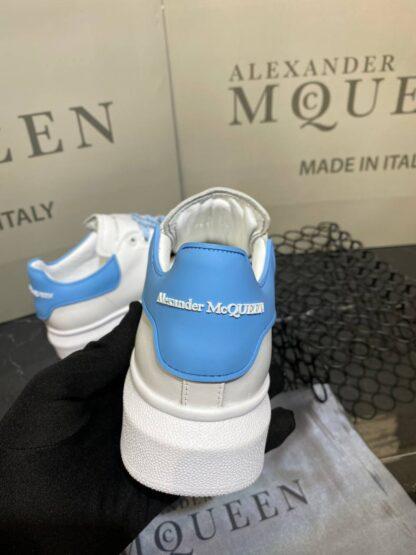alexander mcqueen ayakkabi yeni sezon mavi beyaz sneaker