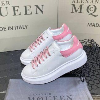 alexander mcqueen ayakkabi yeni sezon pembe beyaz sneaker