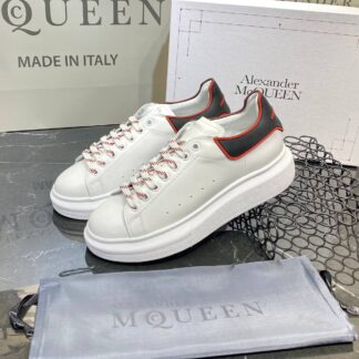 alexander mcqueen ayakkabi yeni sezon siyah beyaz kirmizi sneaker