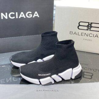 balenciaga ayakkabi corap ayakkabi siyah beyaz