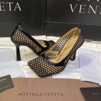 bottega veneta ayakkabi stretch pumps topuk 9 cm