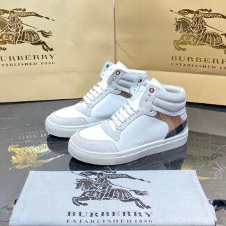 burberry ayakkabi bot beyaz