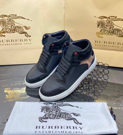 burberry ayakkabi bot siyah