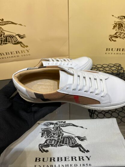 burberry ayakkabi sneaker classic beyaz