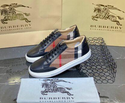 burberry ayakkabi sneaker classic siyah