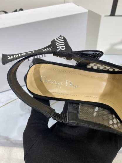 christian dior ayakkabi pump stiletto jadior slingback topuk 9 cm
