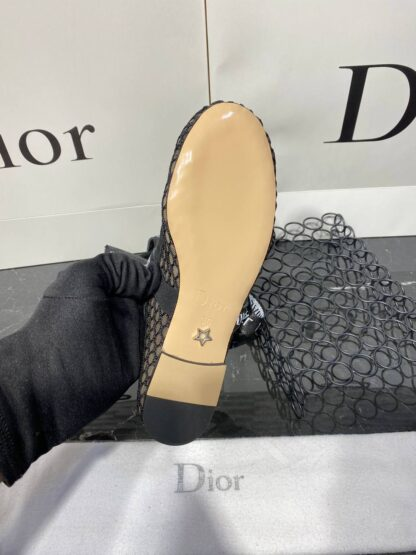 christian dior ayakkabi siyah ozel dizayn babet