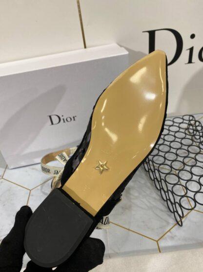 christian dior ayakkabi siyah pump stiletto jadior topuk 9 cm