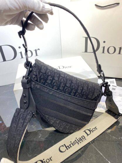 christian dior canta saddle siyah 25x20 cm