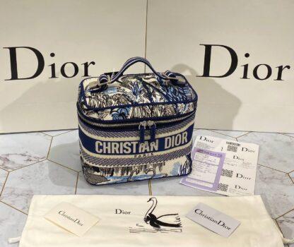 christian dior canta travel vanity 24x17 cm