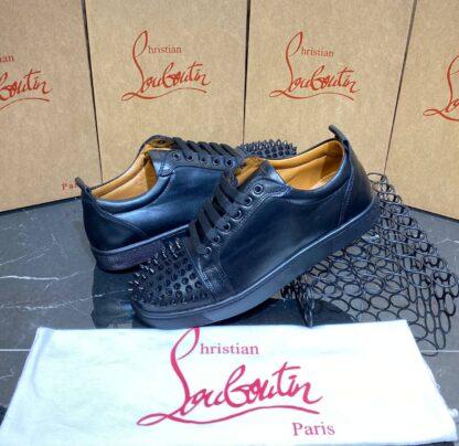 christian louboutin ayakkabi erkek sneaker siyah