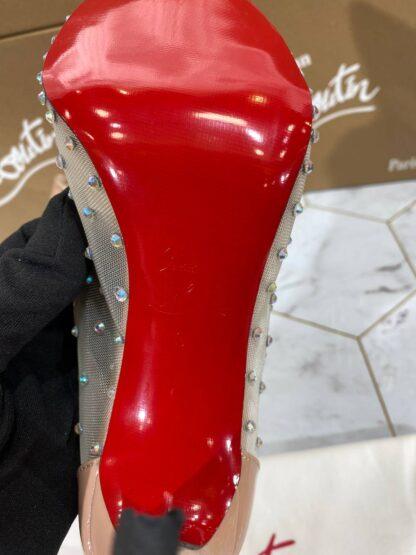 christian louboutin ayakkabi stiletto nude topuk 12 cm