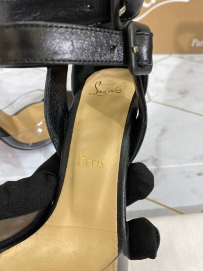 christian louboutin ayakkabi stiletto siyah topuklu 12 cm