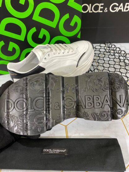 dolce gabbana ayakkabi sneaker erkek beyaz siyah