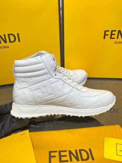fendi ayakkabi erkek bot beyaz