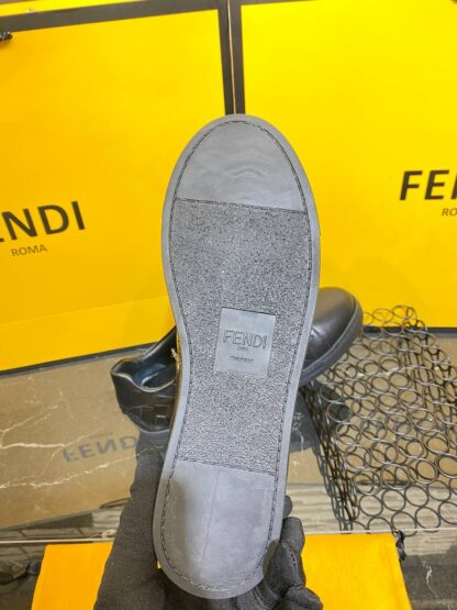 fendi ayakkabi erkek sneaker siyah