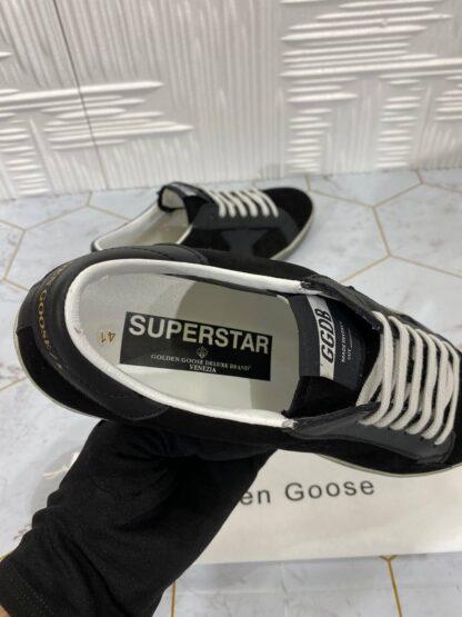 golden goose ayakkabi erkek sneaker siyah suet