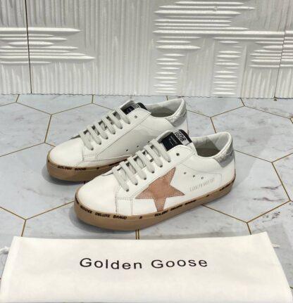 golden goose ayakkabi superstar sneakers beyaz pudra